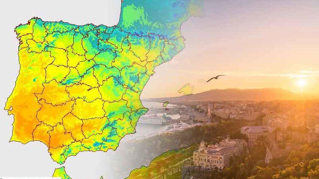 Domingo muy primaveral: más de 25ºC en múltiples provincias