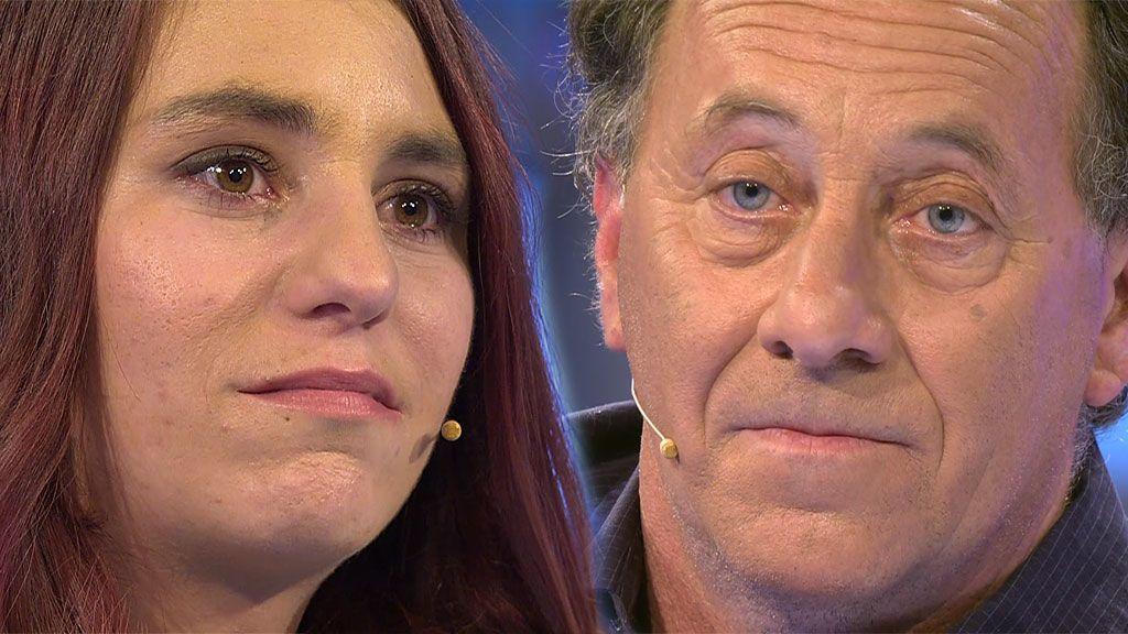 Padre e hija sacan los trapos sucios en su tenso encuentro