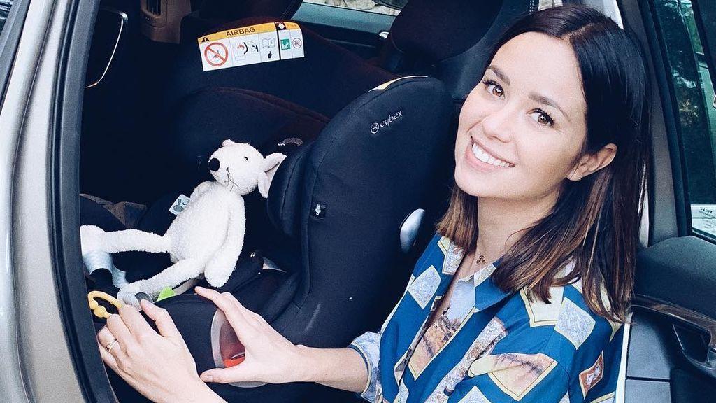 """La sorpresa de Dafne Fernández en Twitter: """"Creo que mi hijo ha escrito su primer tuit"""""""