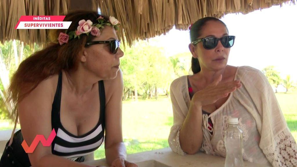 Imágenes inéditas 'Supervivientes': Isabel Pantoja habla del gran cambio físico de Kiko Rivera