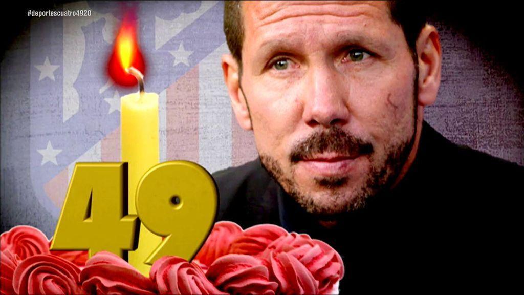 Los deseos de Simeone en el día de su cumpleaños: LaLiga, Godín, Lemar, Oblak, Costa y Rodrigo