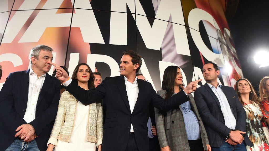 """Rivera: """"La mala noticia es que Sánchez e Iglesias van a formar Gobierno con los nacionalistas"""""""