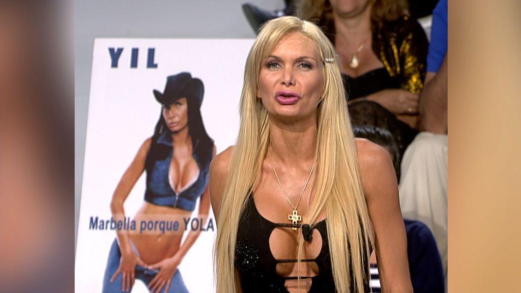 Yola Berrocal se presentó a la alcaldía de Marbella en 2006