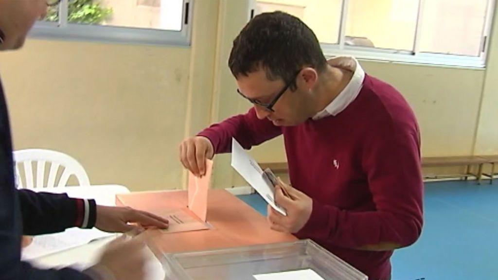 Un total de 100 000 personas con discapacidad intelectual votan por primera vez