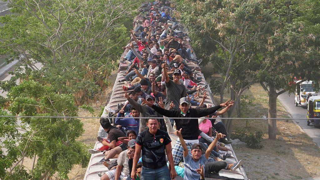 El tren de la Bestia vuelve a estar abarrotado para llegar a la frontera de EEUU pese a Trump