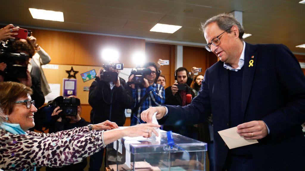 Desplantes e insultos a Arrimadas y a Vox en la jornada electoral en Cataluña