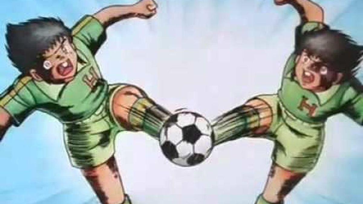 A lo Supercampeones: La 'doble chilena' en el gol del Osasuna que recuerda a  Oliver y Benji