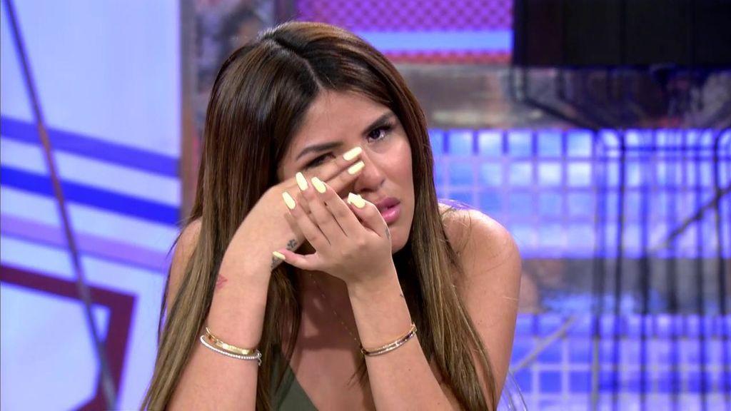 Isa Pantoja se derrumba: la mala relación con su hermano Kiko Rivera, motivo de sus lágrimas