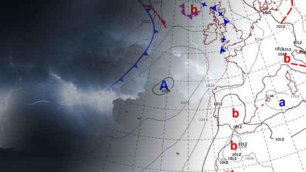 Mayo llega con tormentas: las bajas presiones irán ganando terreno desde el sur peninsular