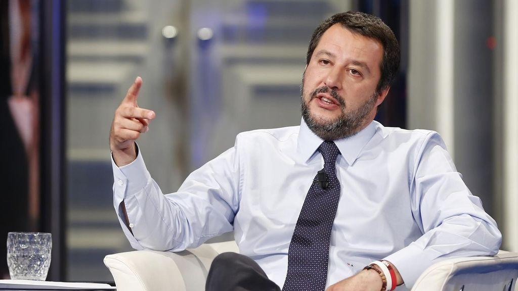 Salvini, el ministro ultraderechista italiano, felicita a sus 'amigos' de Vox