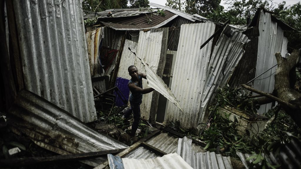 Mueren 38 personas a causa del ciclón Kenneth en Mozambique