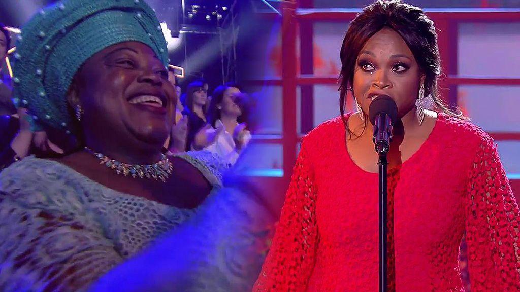 Cyntia cumple su sueño en la final de Got Talent: reencontrarse con su madre