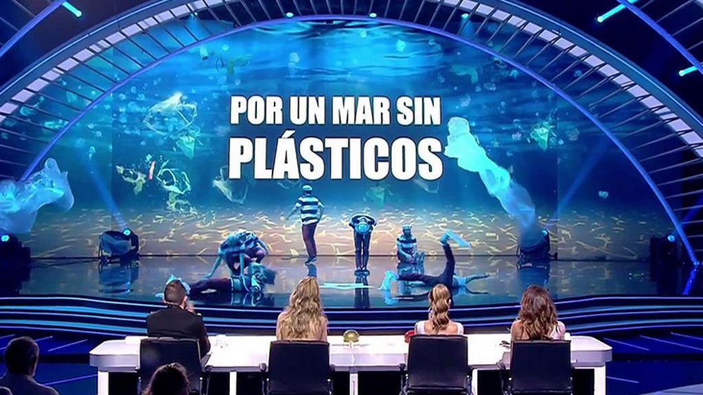 Art Gee apuestan por un mar sin plástico en la gran final
