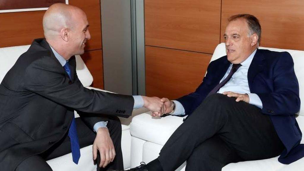 """Rubiales: """"No buscamos confrontación con La Liga en el nuevo Convenio de Coordinación"""""""