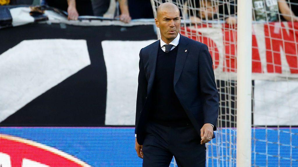 """El mosqueo de Zidane con varios futbolistas señalados: """"Respetad el Real Madrid"""""""