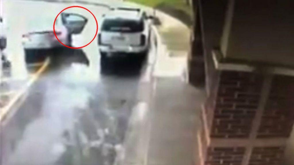 Un niño de ocho años salva a su hermana después de que robaran el coche con ellos dentro