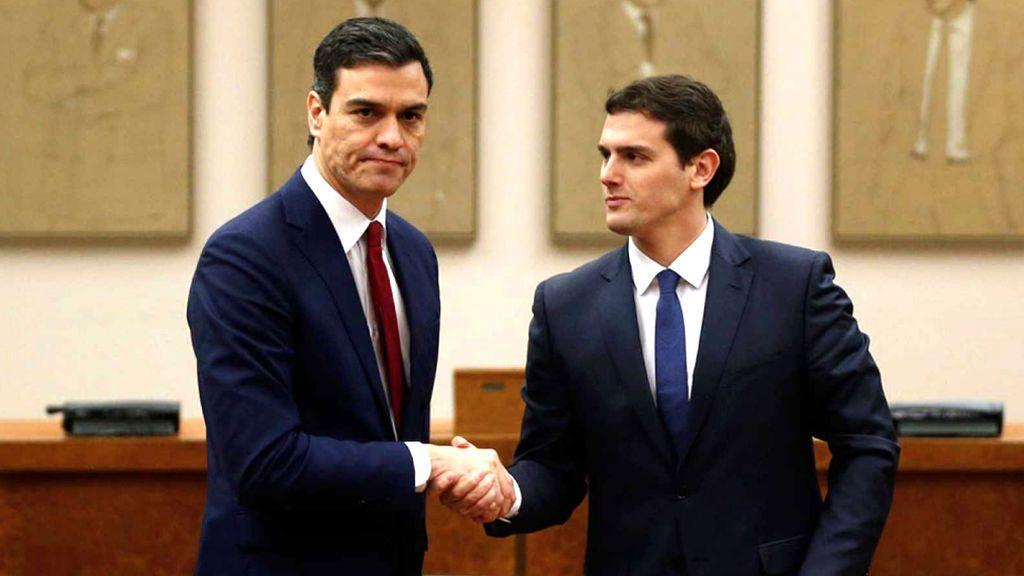 VOTA: ¿Pactará Sánchez con Ciudadanos?