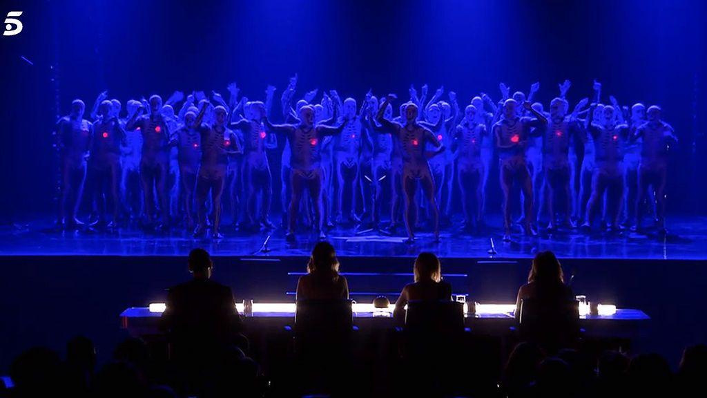 Por la donación de órganos, contra el fuego y por la igualdad: el paso de la Murga Zeta Zetas por 'Got Talent'