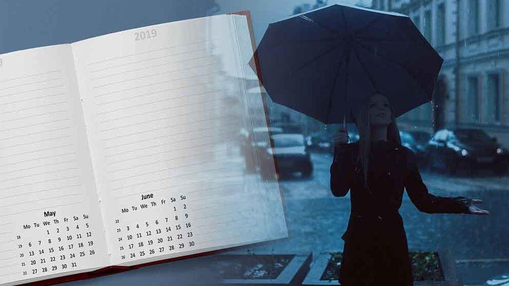 No guardes el paraguas: mayo se presenta lluvioso e inestable