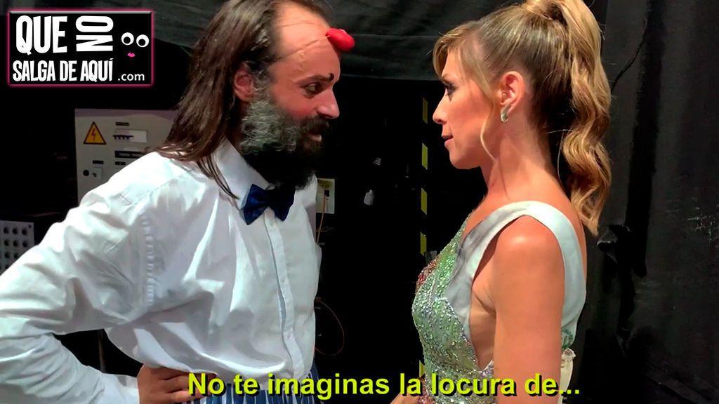 """El lado más tierno de Eva Isanta después de Got Talent, consolando a su """"marido"""" Cucko y otros perdedores"""