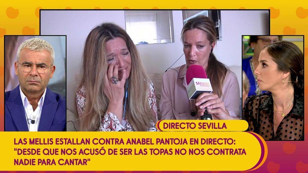 """Las Mellis: """"Desde que Anabel Pantoja nos acusó de ser las topas hemos pasado por apuros económicos"""""""