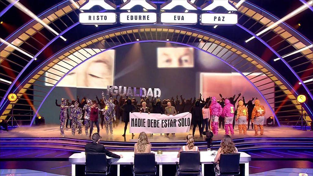 La Murga Zeta Zetas se convierten en los ganadores de la cuarta edición de 'Got Talent'