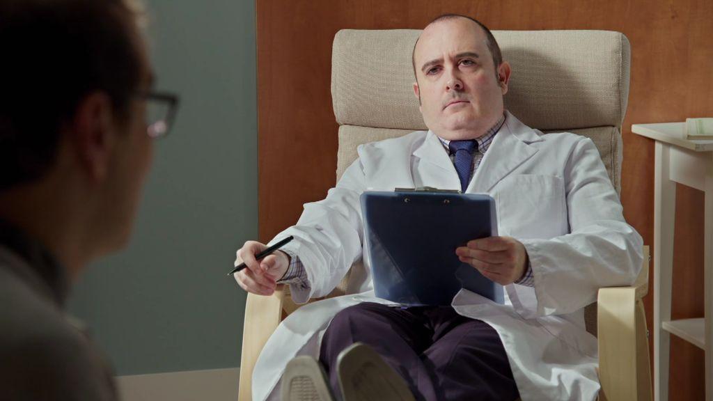 El doctor García Baquero aplica a Bruno una terapia de choque de lo más innovadora