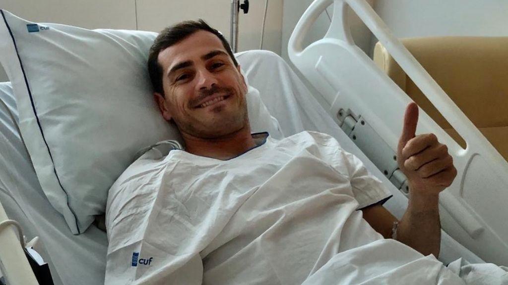 """""""Todo controlado por aquí, un susto grande pero con las fuerzas intactas"""", el mensaje de Iker Casillas tras sufrir un infarto agudo de miocardio"""
