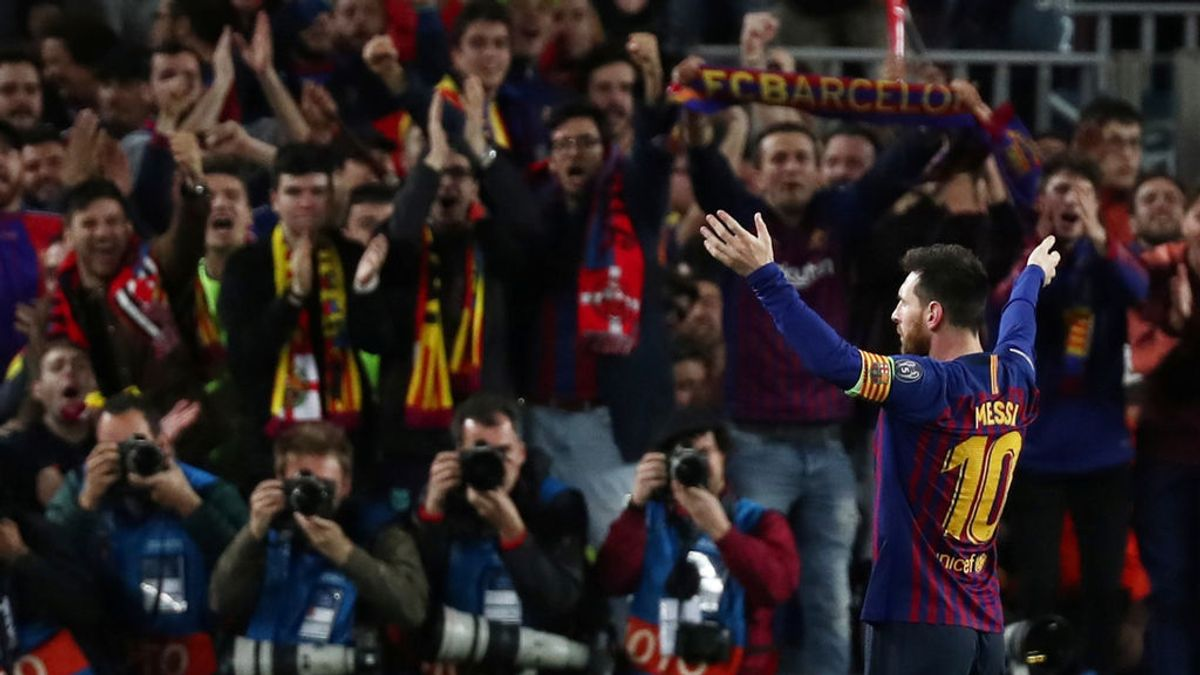 Messi, con un doblete, y Luis Suárez acercan al Barça a la final de la Champions tras vencer al Liverpool (3-0)