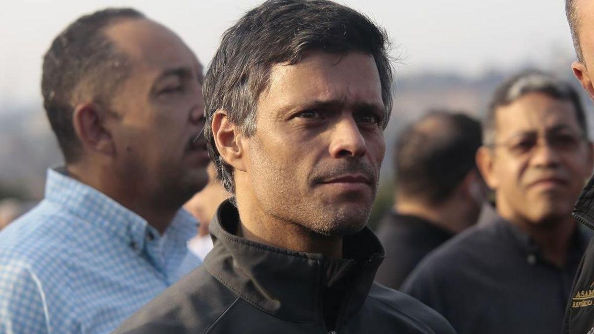 Leopoldo López se traslada junto con su familia a la Embajada de España