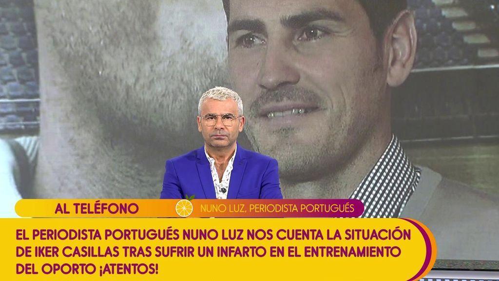 """Los detalles sobre el infarto de Iker Casillas: """"Fue al hospital porque se encontraba mal y allí le detectaron el infarto"""""""