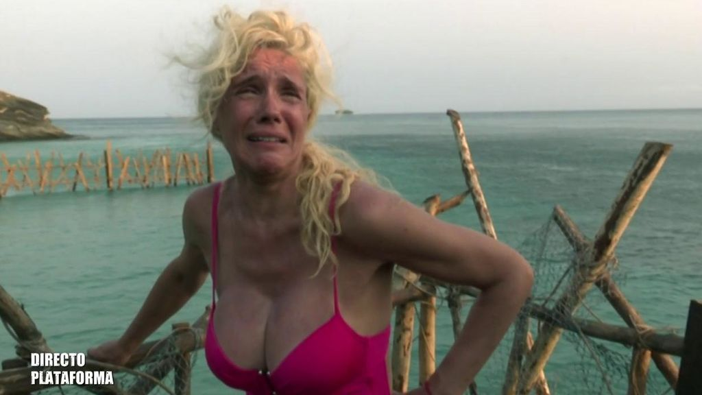 "La divertida histeria de Loly al convertirse en la primera pirata olvidada: ""Me van a comer"""