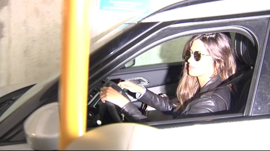 Sara Carbonero visita a Casillas en el hospital