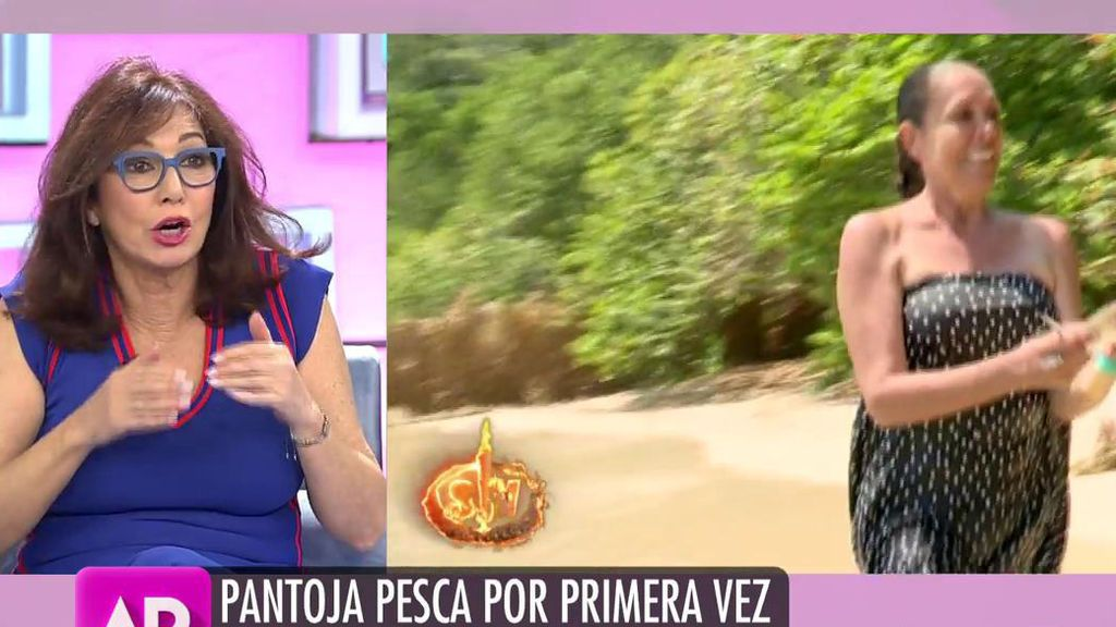 """Ana Rosa defiende a Isabel Pantoja: """"El que quiera peces, que se moje el culo"""""""