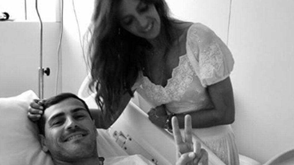 """Sara Carbonero habla tras el ingreso de Iker Casillas por un infarto agudo: """"Celebrar cada latido"""""""