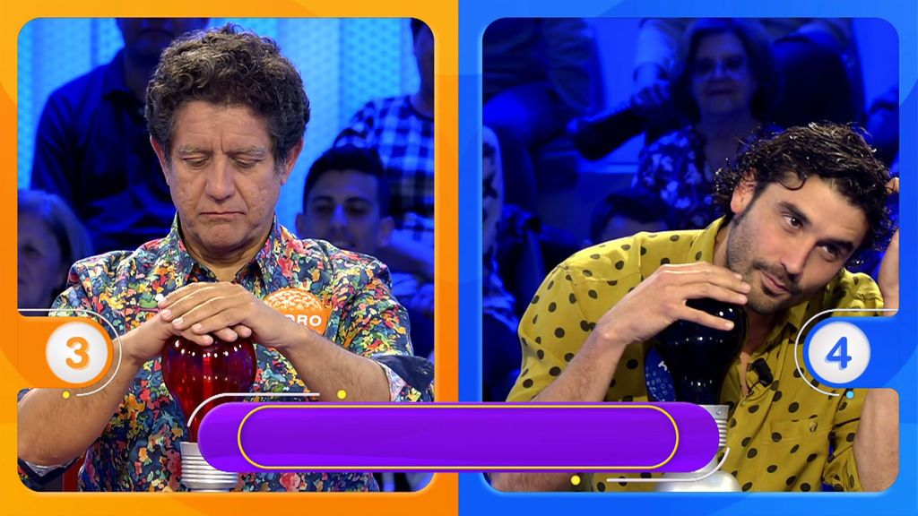 """Christian bromea con las camisas de Álex García y Pedro: """"Su televisiones están bien"""""""