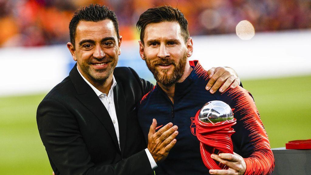 """Leo Messi se despide de Xavi tras el anuncio de su retirada: """"Fue un placer compartir vestuario con vos"""""""