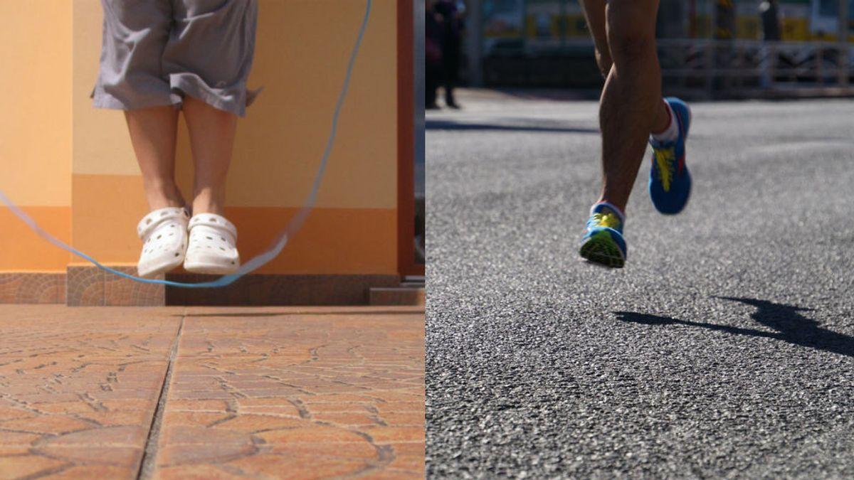 ¿Qué quema más calorías, saltar a la comba o correr?