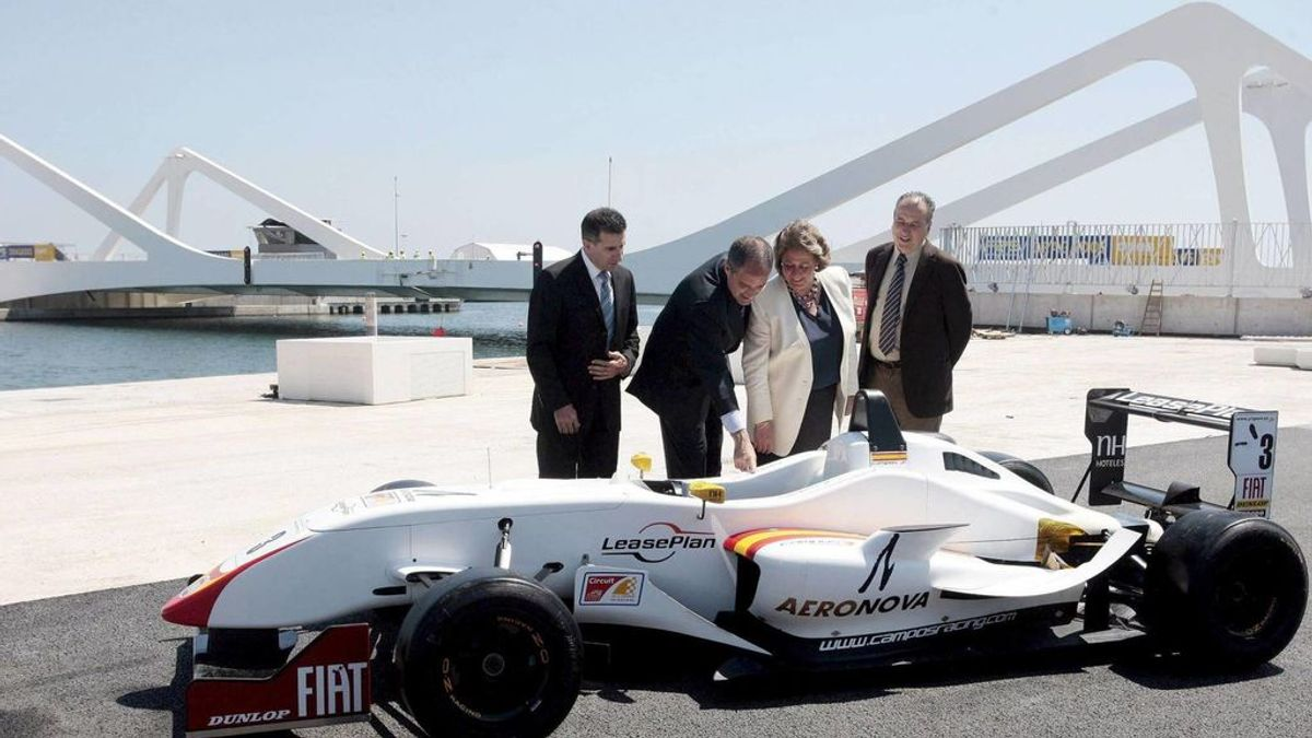 La jueza procesa a Camps, Rambla, Flores, cargos de GTP y empresarios por la construcción del circuito de F1