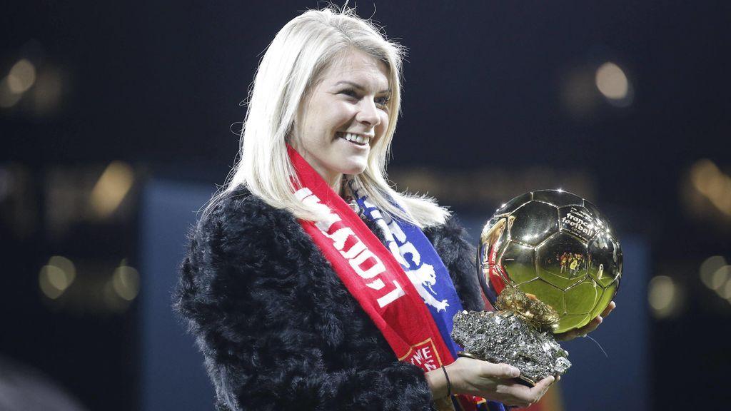 Hegerberg, actual Balón de Oro femenino, no jugará el Mundial como protesta por la desigualdad con el equipo masculino de Noruega