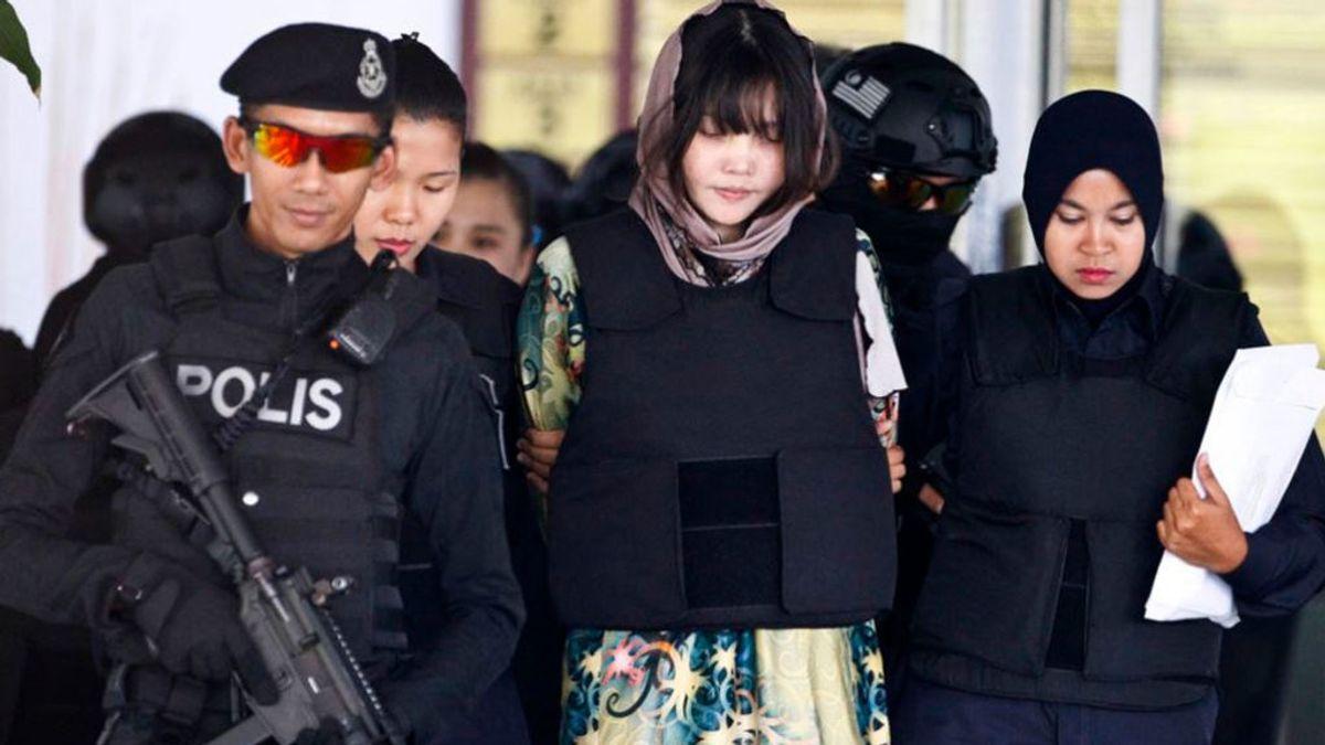 Malasia libera a Doan Thi Huong, acusada de asesinar al hermanastro de Kim Jong Un