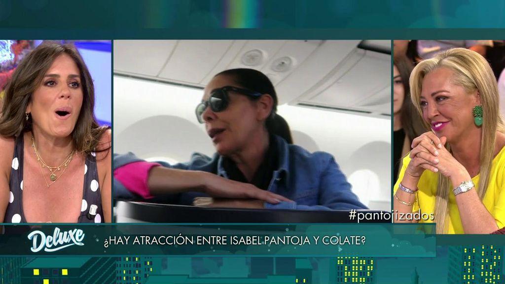 Belén Esteban revela cómo fue el primer encuentro entre Isabel Pantoja y Colate antes de 'Supervivientes'