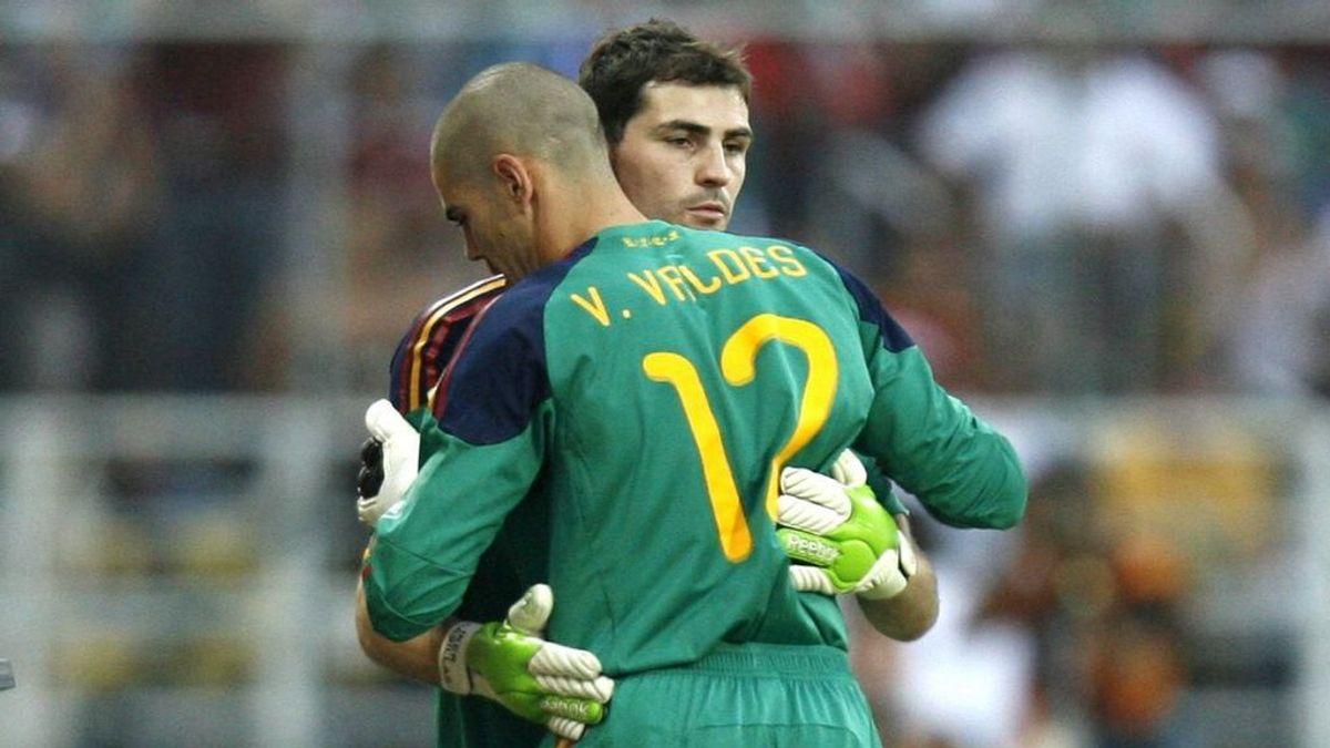 """Valdés manda su apoyo a Casillas: """"Te animo a que seas de nuevo ese león blanco"""""""
