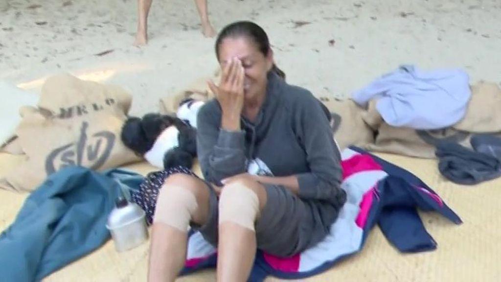 ¿Reconciliación a la vista? Isabel Pantoja y las Azúcar Moreno, de risas en la playa