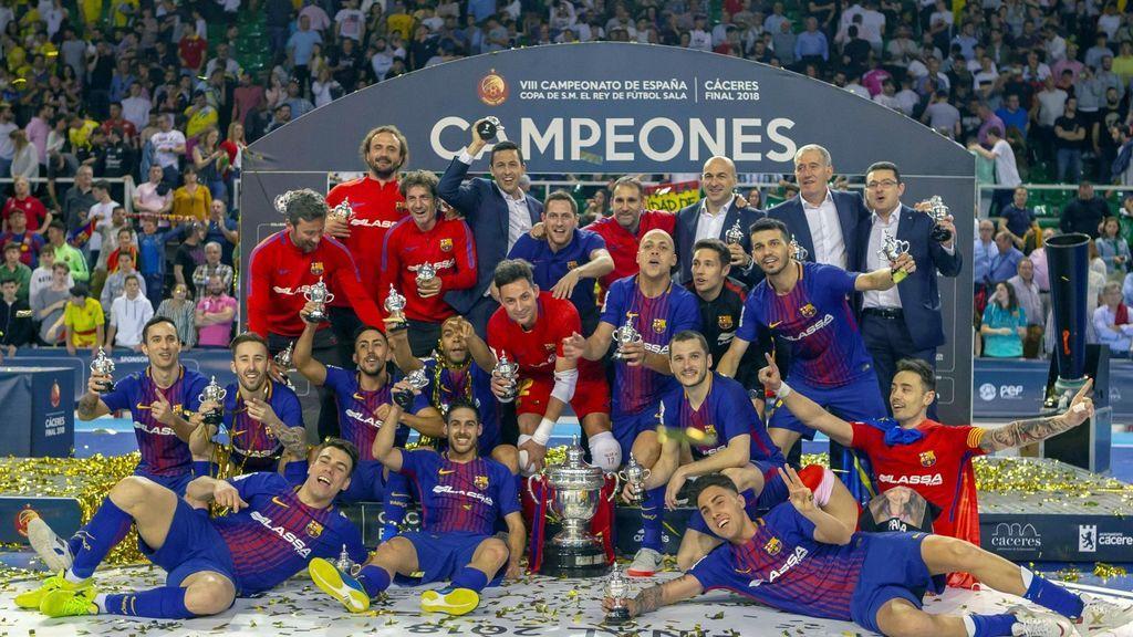 Barcelona Lassa y Jaén Paraíso repetirán final de Copa del Rey