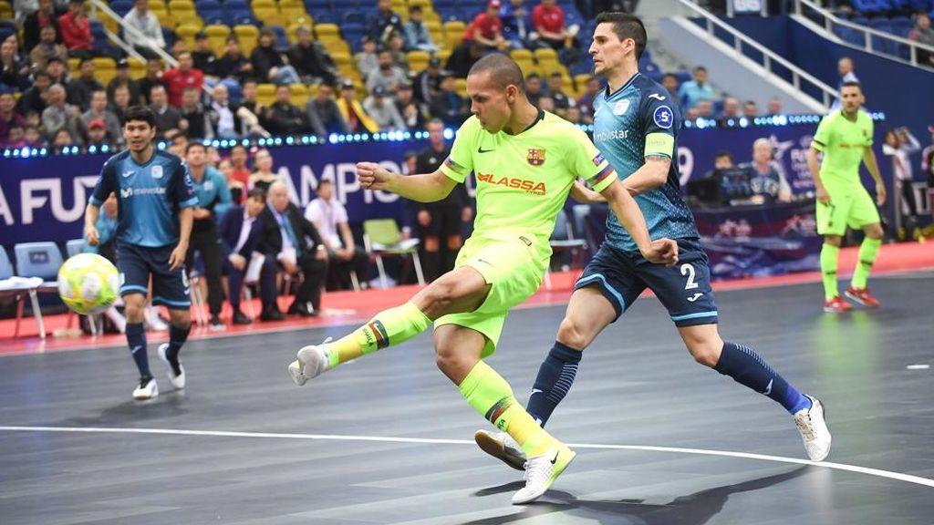 Didac coloca al Barcelona Lassa en la final de la Copa del Rey