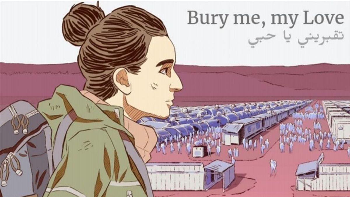 El videojuego 'Bury me, my Love' relata la realidad de los refugiados a través de una migrante siria