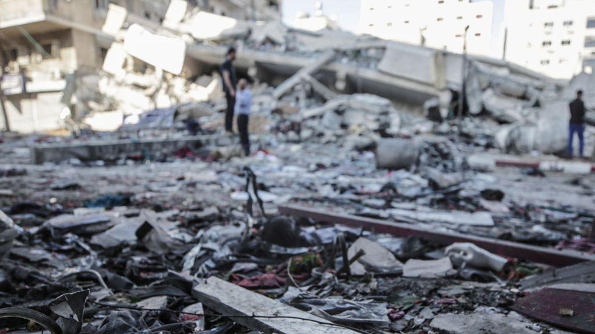 Aumenta a siete el número de muertos en los bombardeos israelíes sobre la Franja de Gaza