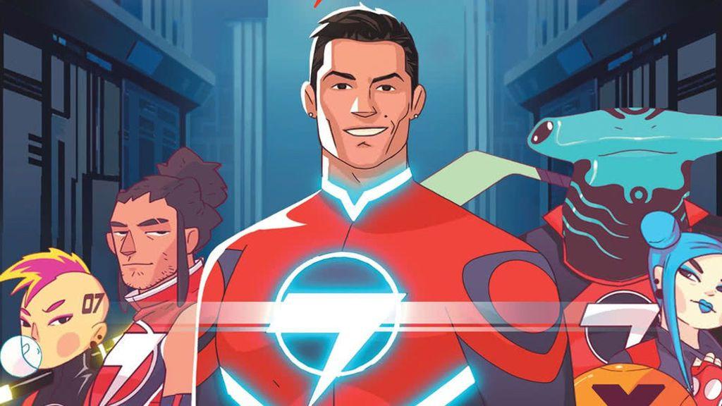 Striker Force 7: La nueva serie de dibujos animados en la que Cristiano Ronaldo se convierte en un superhéroe