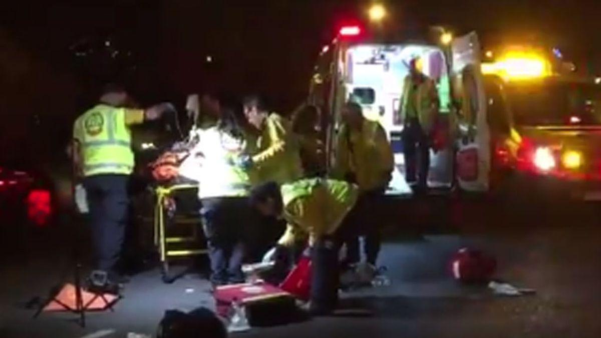 Herido de gravedad un hombre tras ser atropellado en el Paseo de la Castellana en Madrid